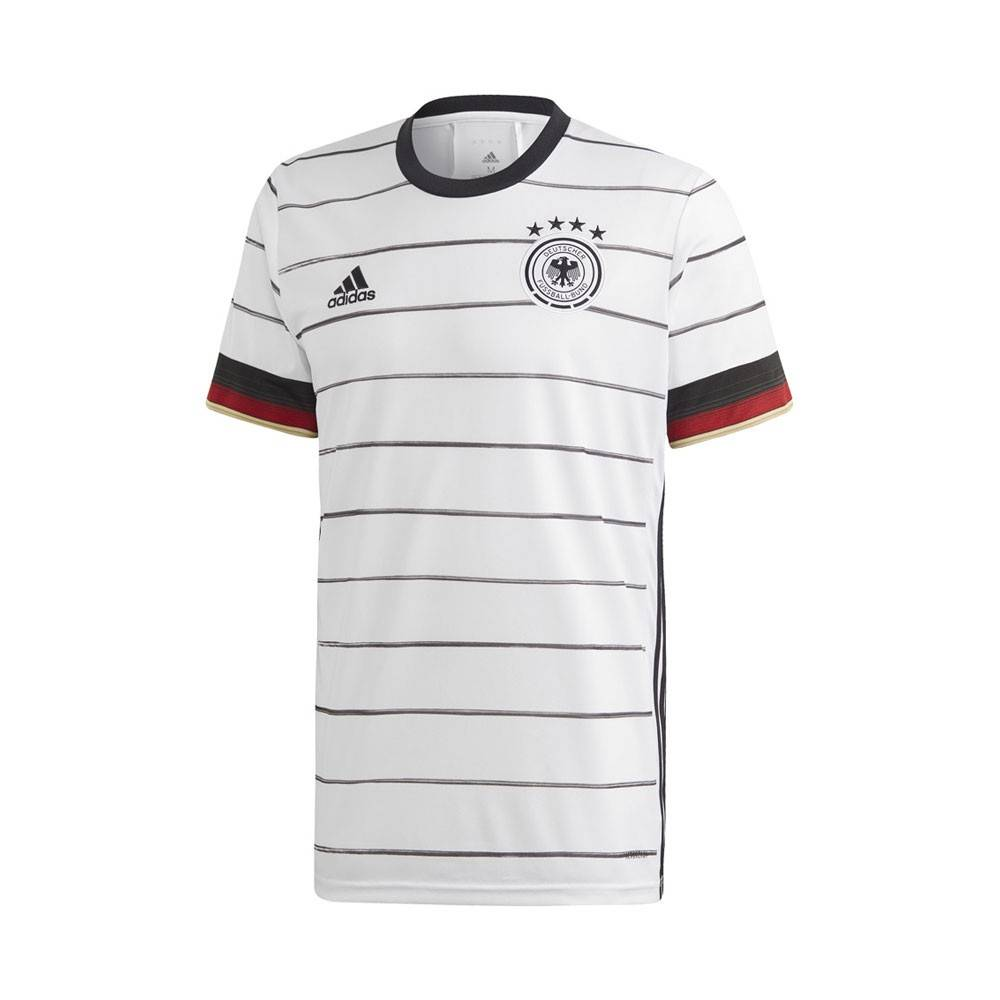 ADIDAS maglia calcio germany home bianco bambino 11-12 Anni