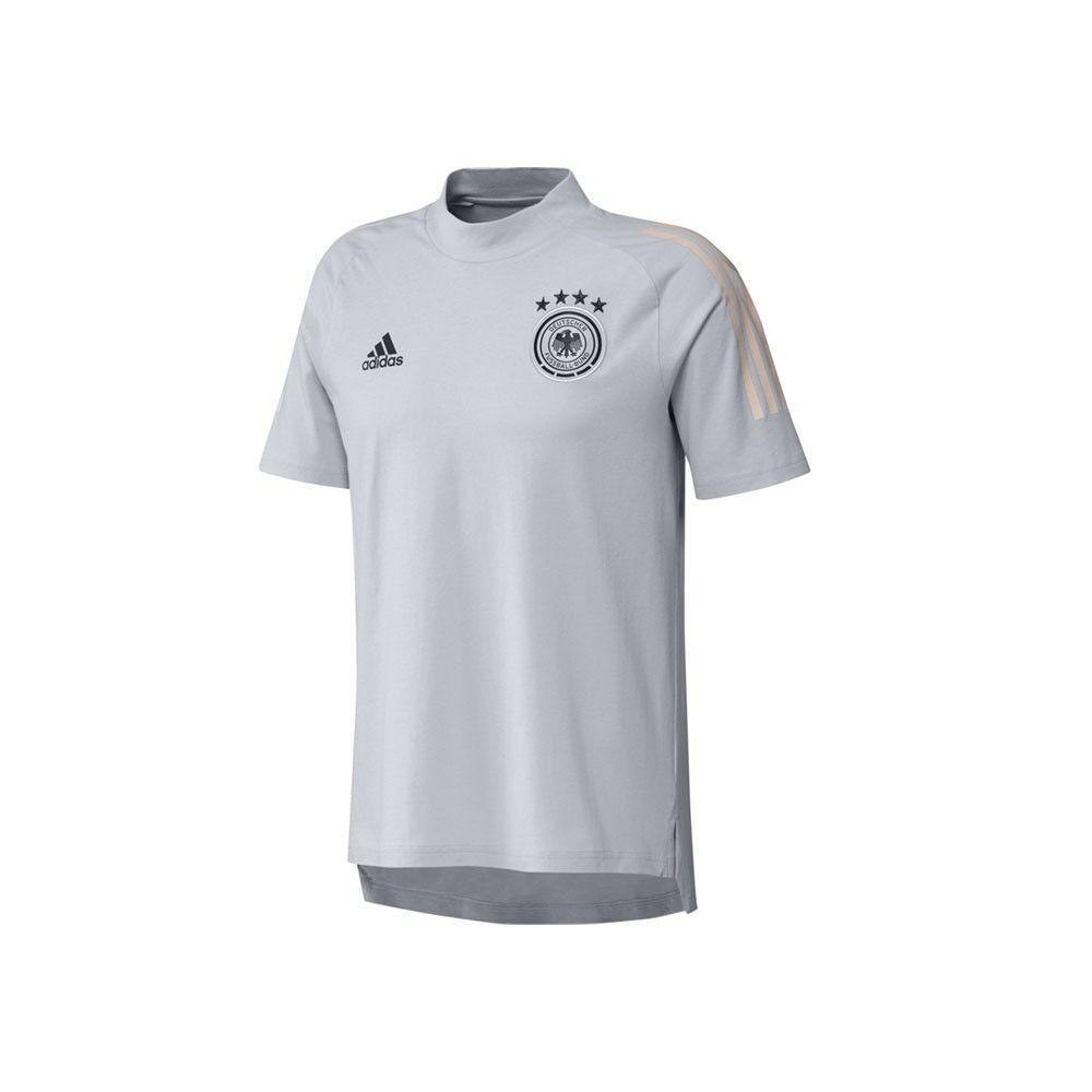 ADIDAS maglia calcio germany dfb grigio bambino 9-10 Anni