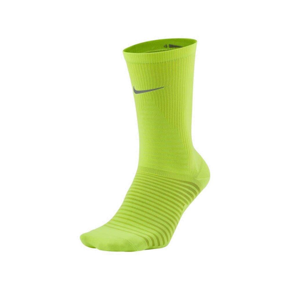 Nike Calze Spark Lightweight Crew Giallo Fluo Unisex Eur 41/43 8-9.5