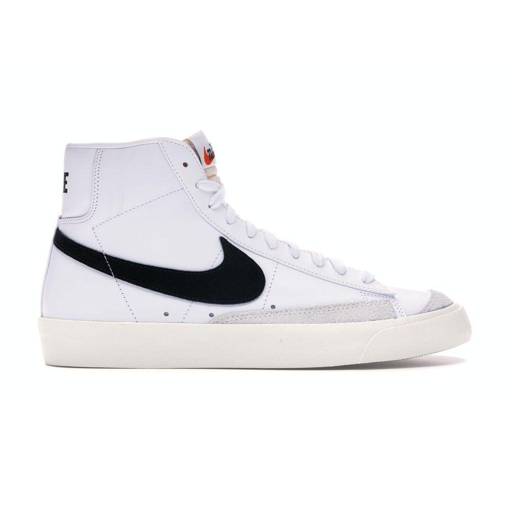 nike sneakers blazer mid 77 vintage bianco nero uomo eur 40 / us 7
