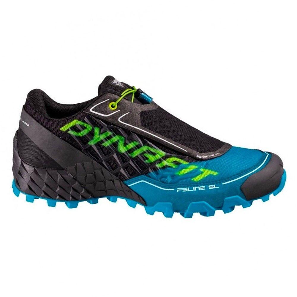 Dynafit Scarpe Trail Running Feline Sl Nero Blu Uomo EUR 42.5 / UK 8.5