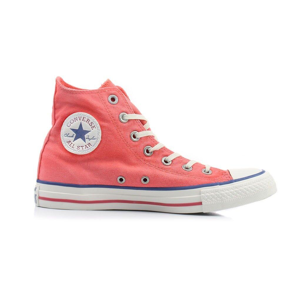Converse Sneakers Canvas Hi Rosso Uomo EUR 38 / US 5.5