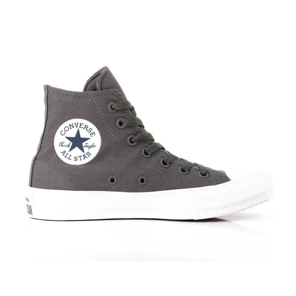 Converse Sneakers Alte All Star Ii Lunar Grigio Bianco Uomo EUR 37.5 / US 5
