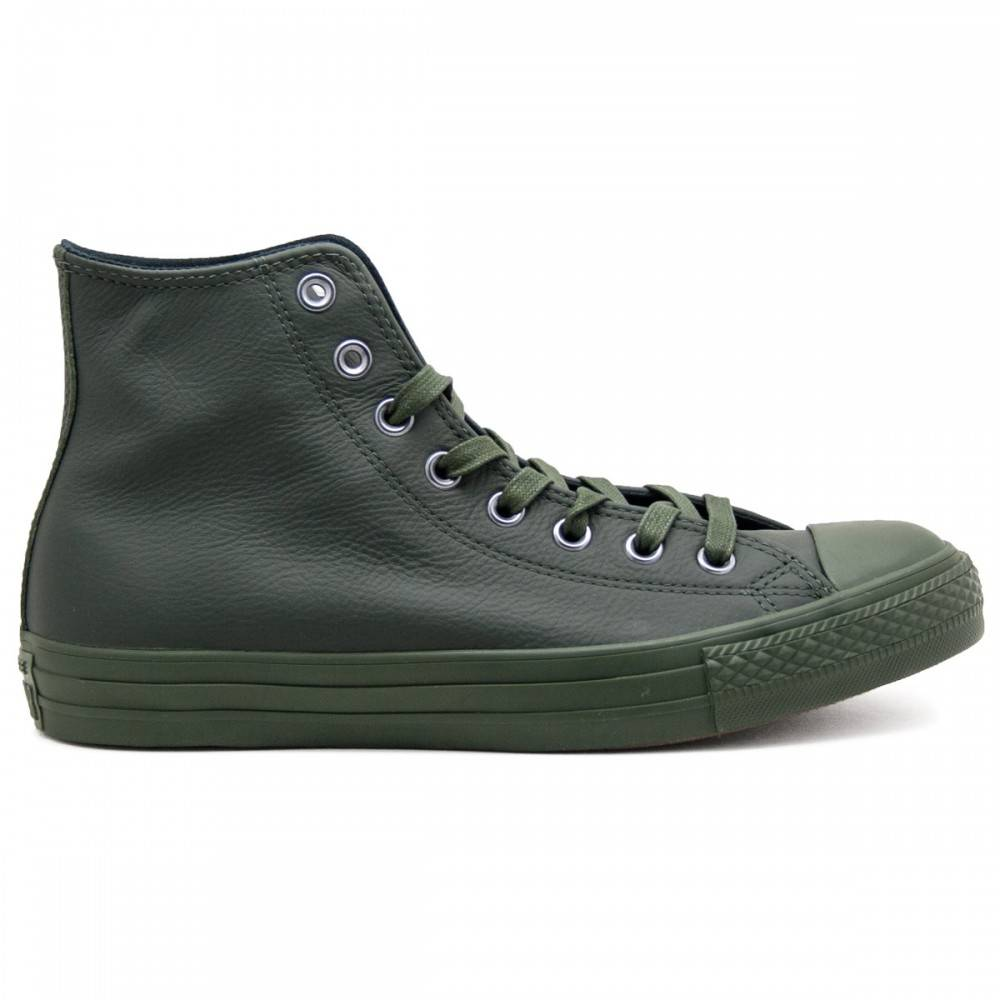 Converse All Star Hi Leather Monochrome Green Monochrome Unisex EUR 39 / US 6