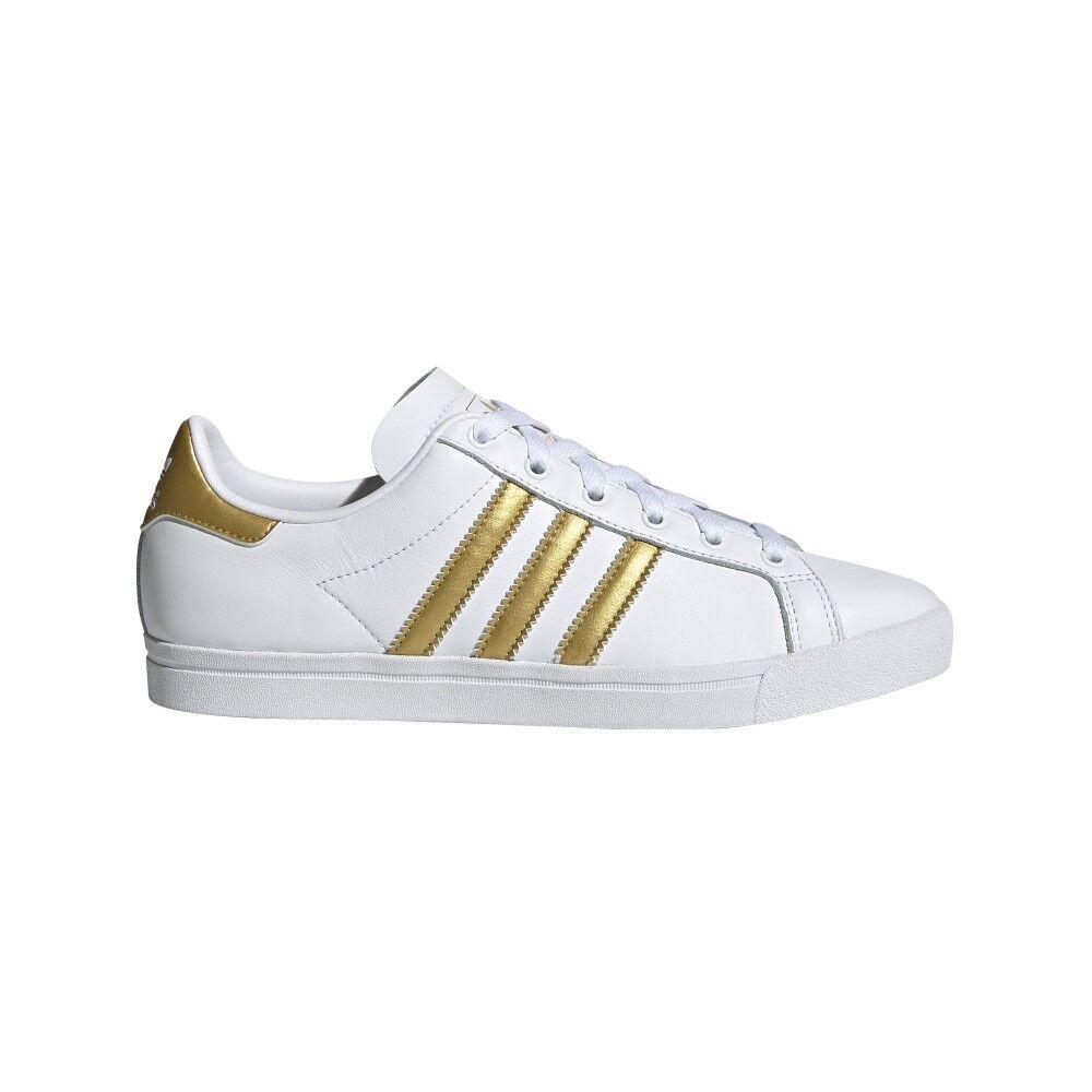 ADIDAS ORIGINALS sneakers coast star bianco oro donna EUR 38 / UK 5