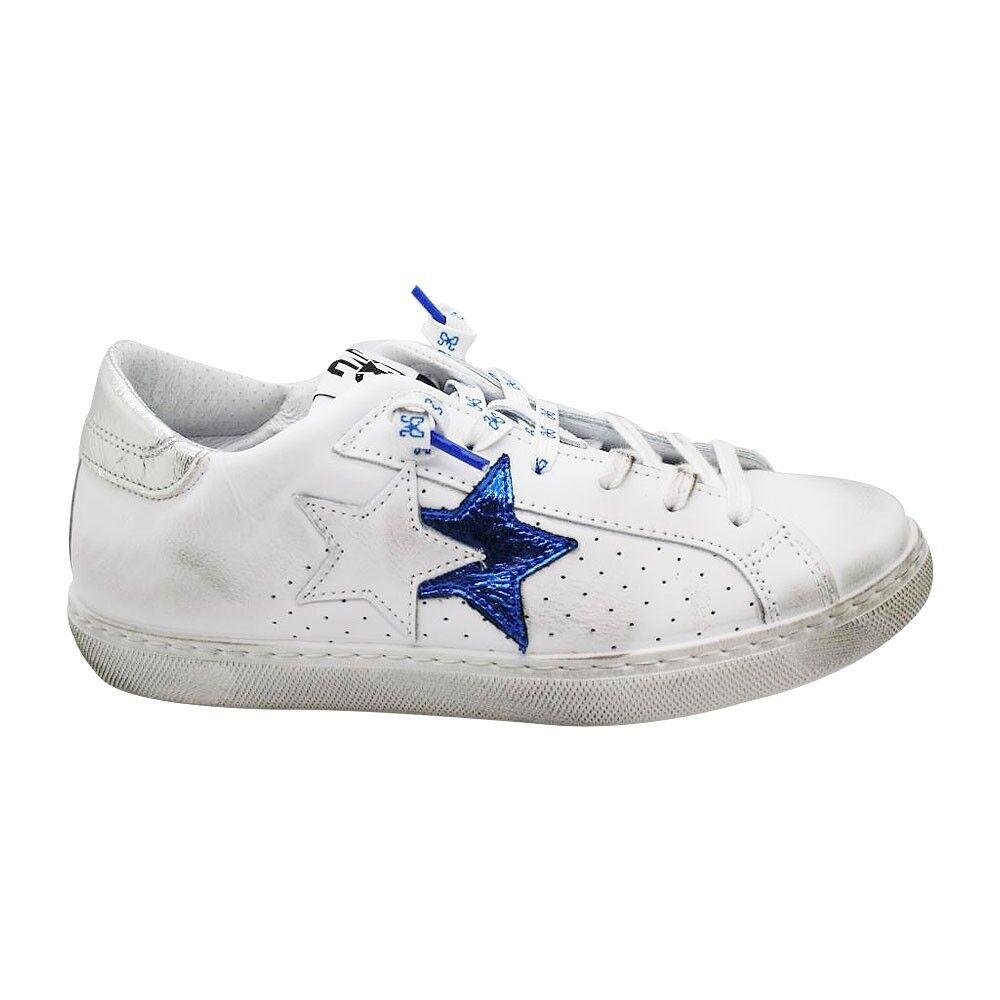 2Star Sneakers Flat Blu Donna EUR 39