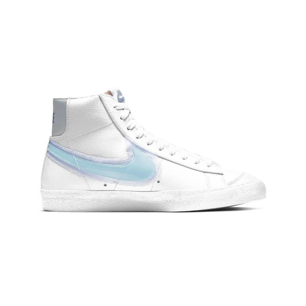 nike sneakers blazer mid 77 bianco glacier blu donna eur 38,5 / us 7,5