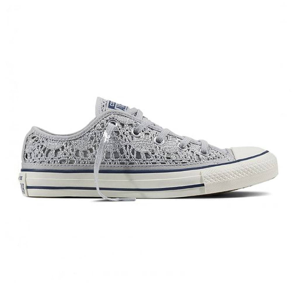 Converse Sneakers Chuck Ox Crocket Grigio Donna EUR 39 / US 6