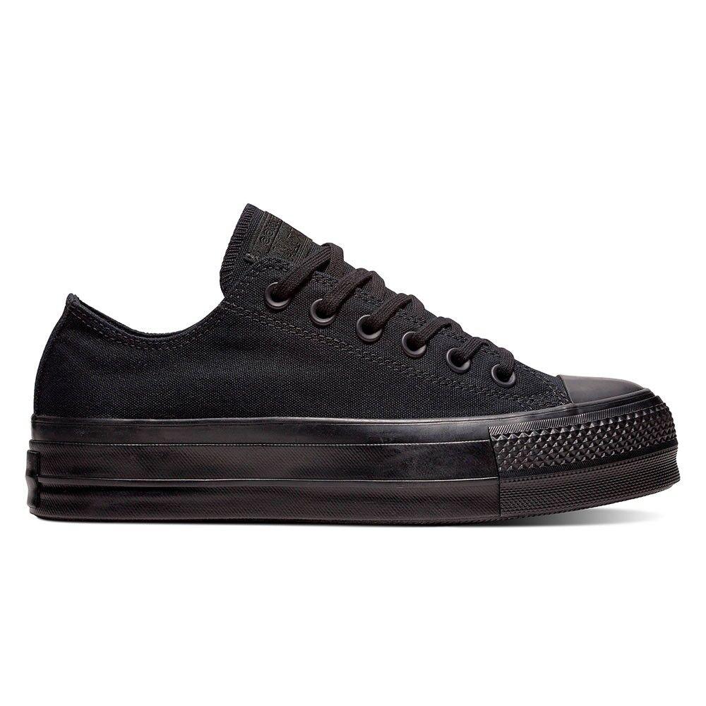 Converse Sneakers All Star Clean Lift Canvas Nero Nero Donna EUR 38 / US 5.5