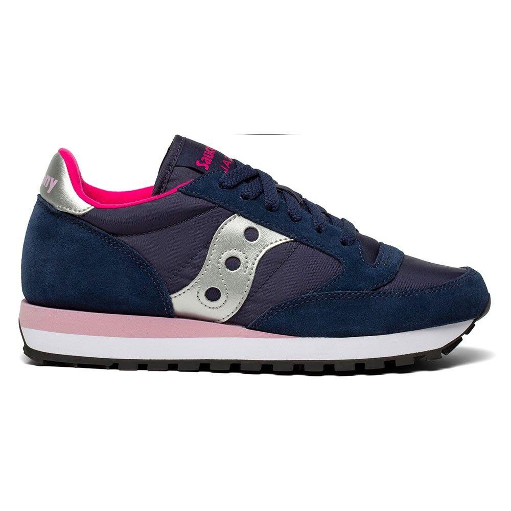 Saucony Sneakers Jazz O Blu Navy Argento Donna EUR 36 / US 5,5