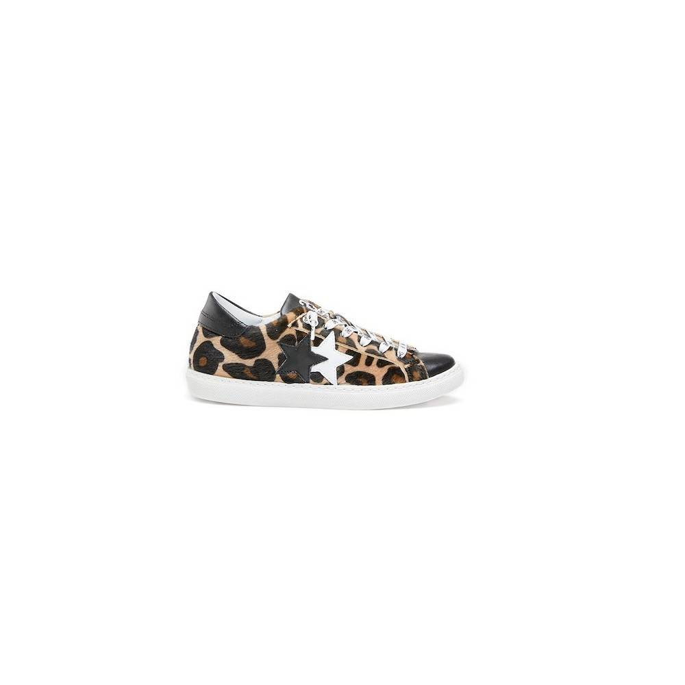 2Star Sneakers Flat Animalier Maculato Donna EUR 40