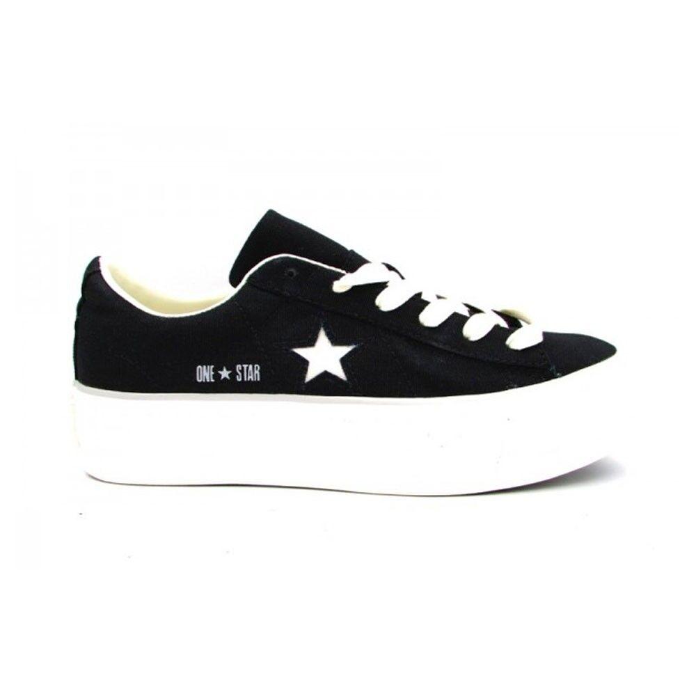 Converse Sneakers Canvas Ox Platform Nero Donna EUR 39 / US 6