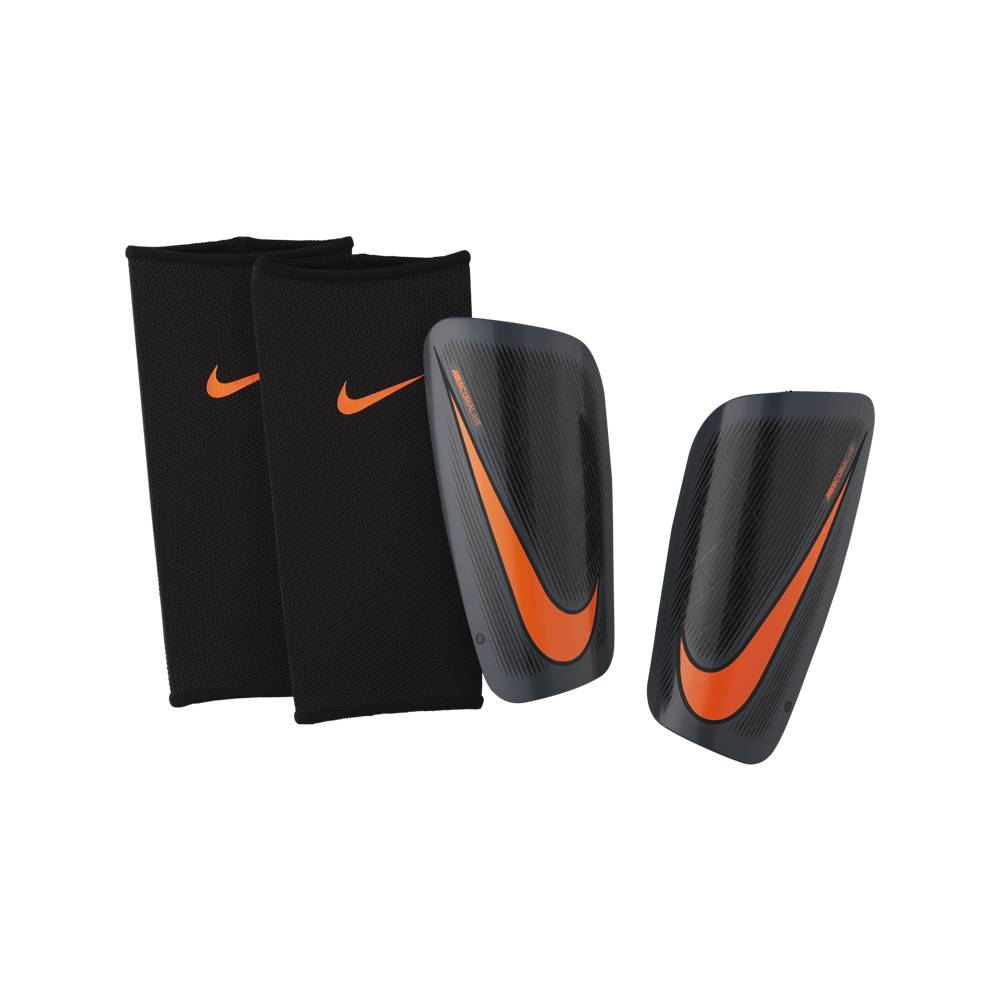 Nike Parastinchi S/Cav C/Calza Nero/Arancio L
