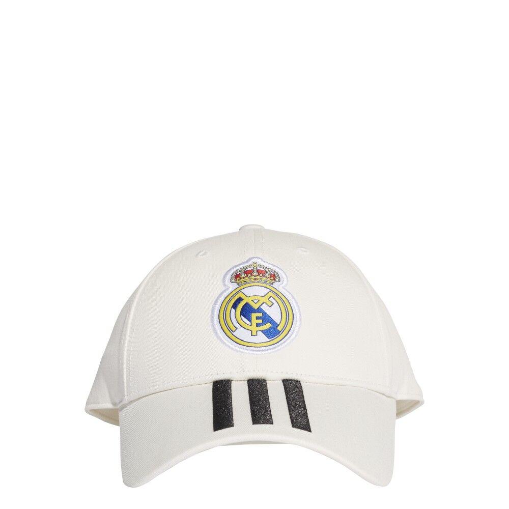 ADIDAS cappellino real bianco/nero M