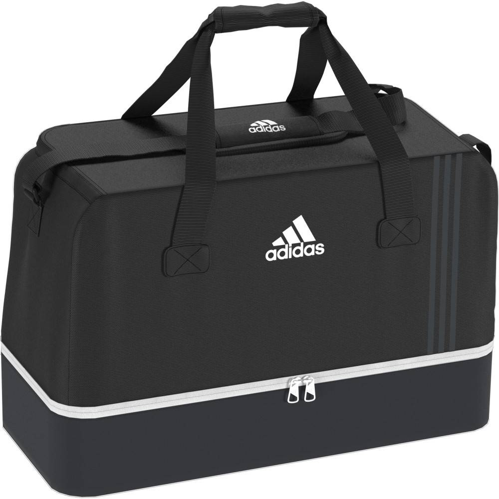 ADIDAS borsa tiro l compartment nero/bianco L