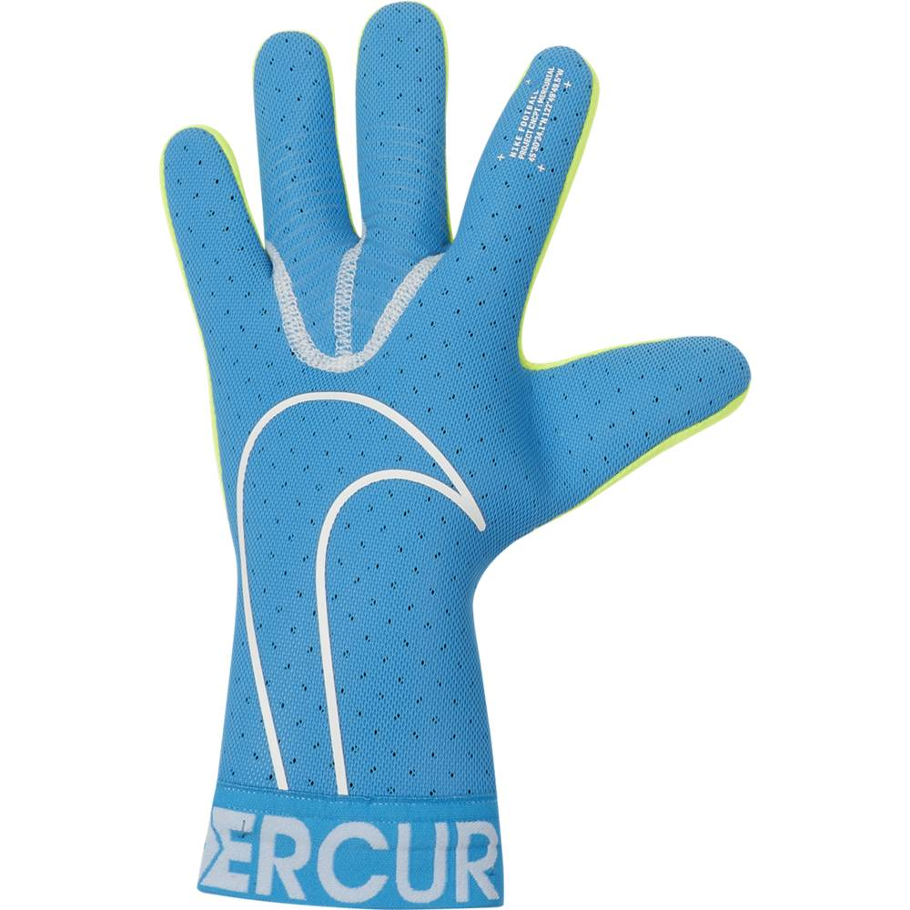Nike Guanti Calcio Mercurial Touch Elite Fa19 Blu Bianco Uomo 8