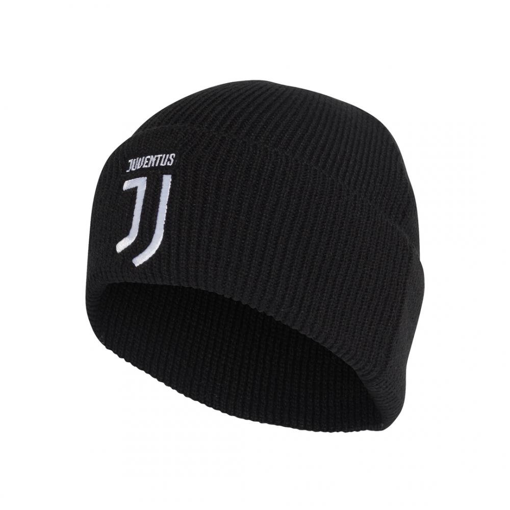 ADIDAS berretto calcio juve woolie nero bianco uomo M