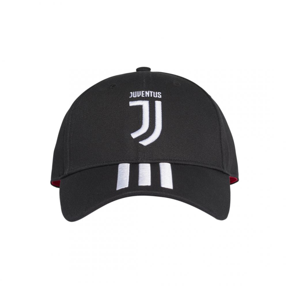 ADIDAS cappellino juve 3s home bianco nero uomo L
