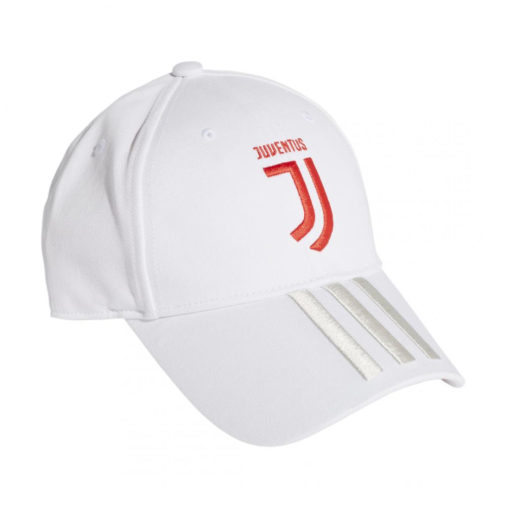 ADIDAS cappellino juve bianco rosso uomo M