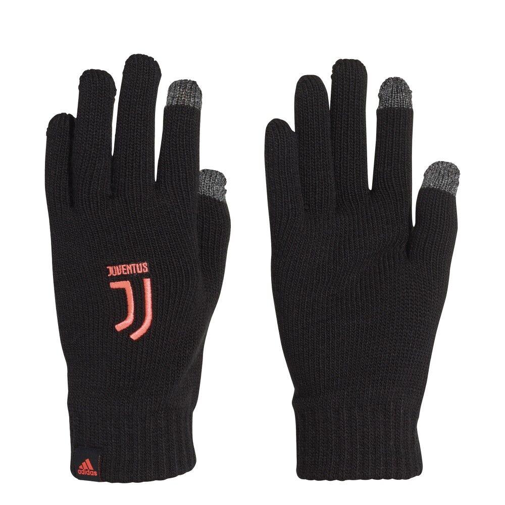 ADIDAS guanti calcio juve nero turbo uomo M
