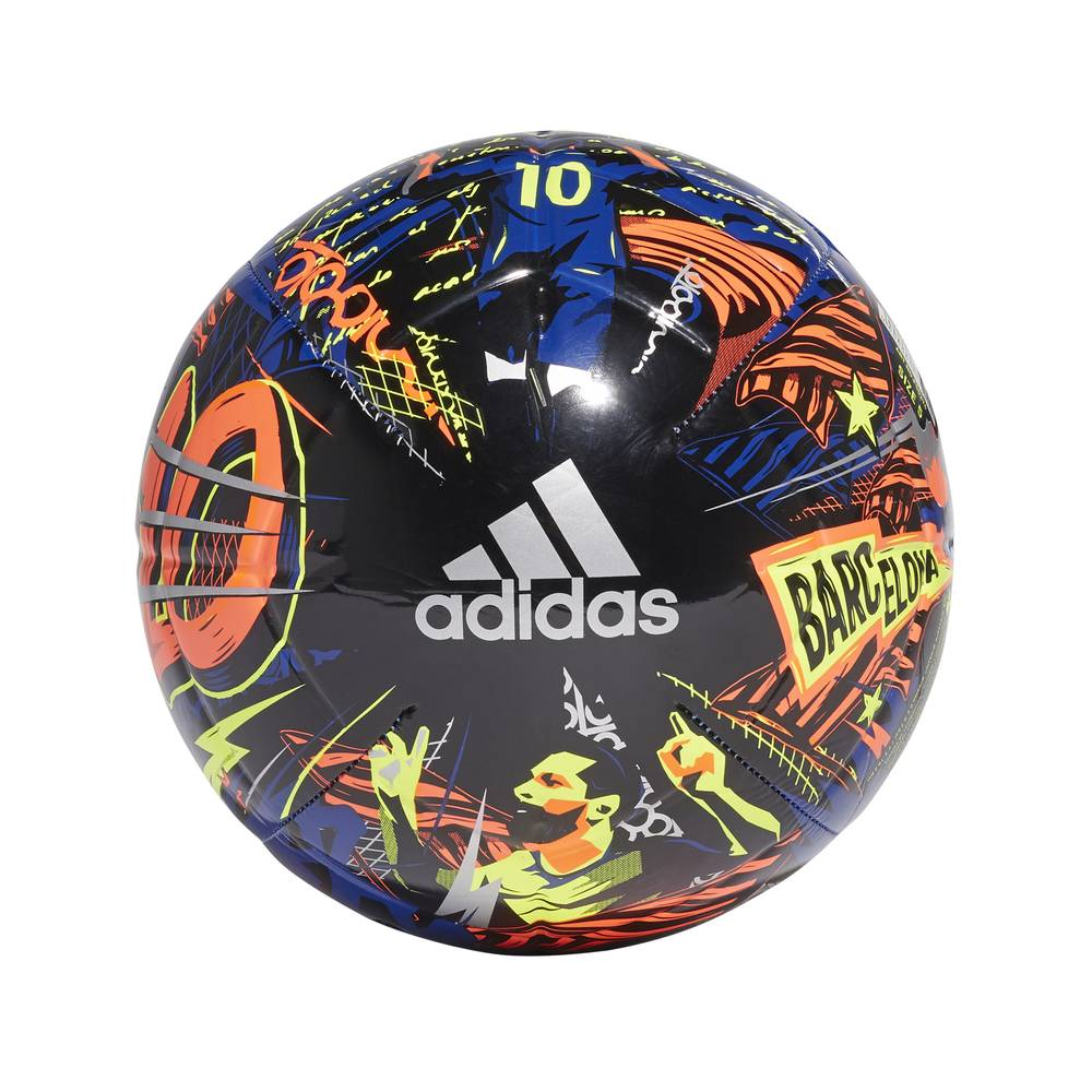 ADIDAS pallone da calcio messi club blu multicolore 5