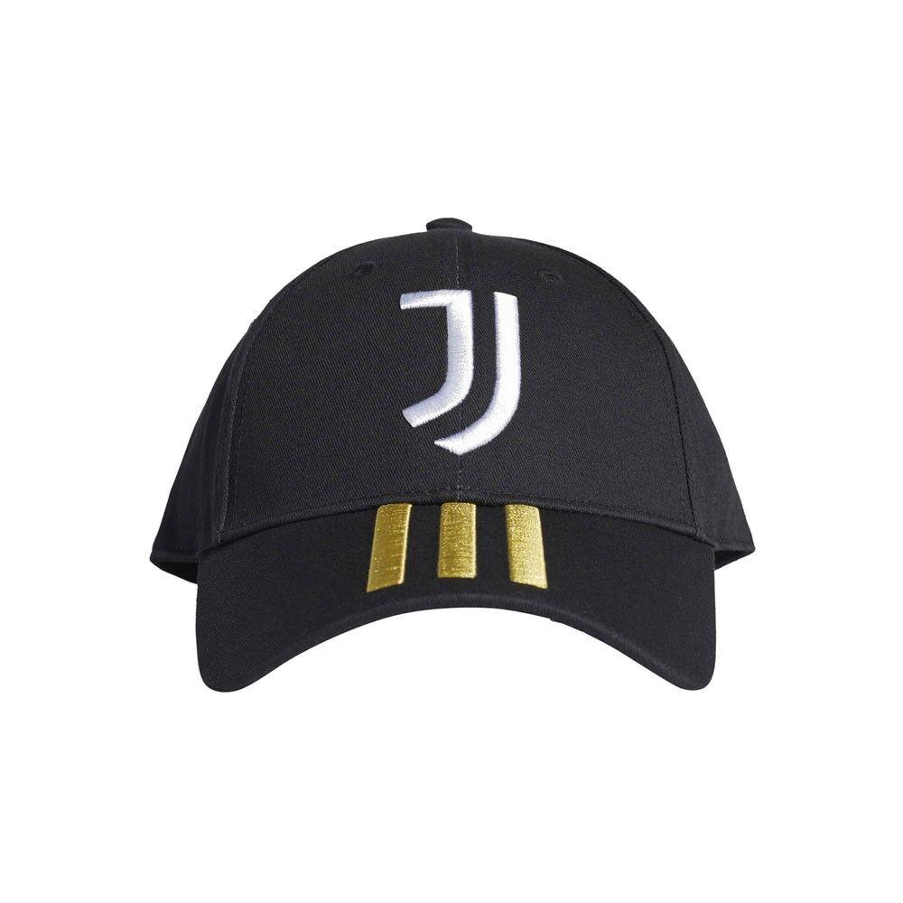ADIDAS cappellino juve nero bianco uomo L