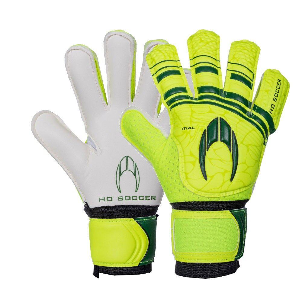 Ho Soccer Ho Guanti Calcio Initial Flat Verde Bambino 5