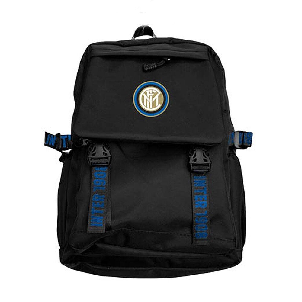Imma Zaino Calcio Sport Inter Nero Azzurro Uomo TU