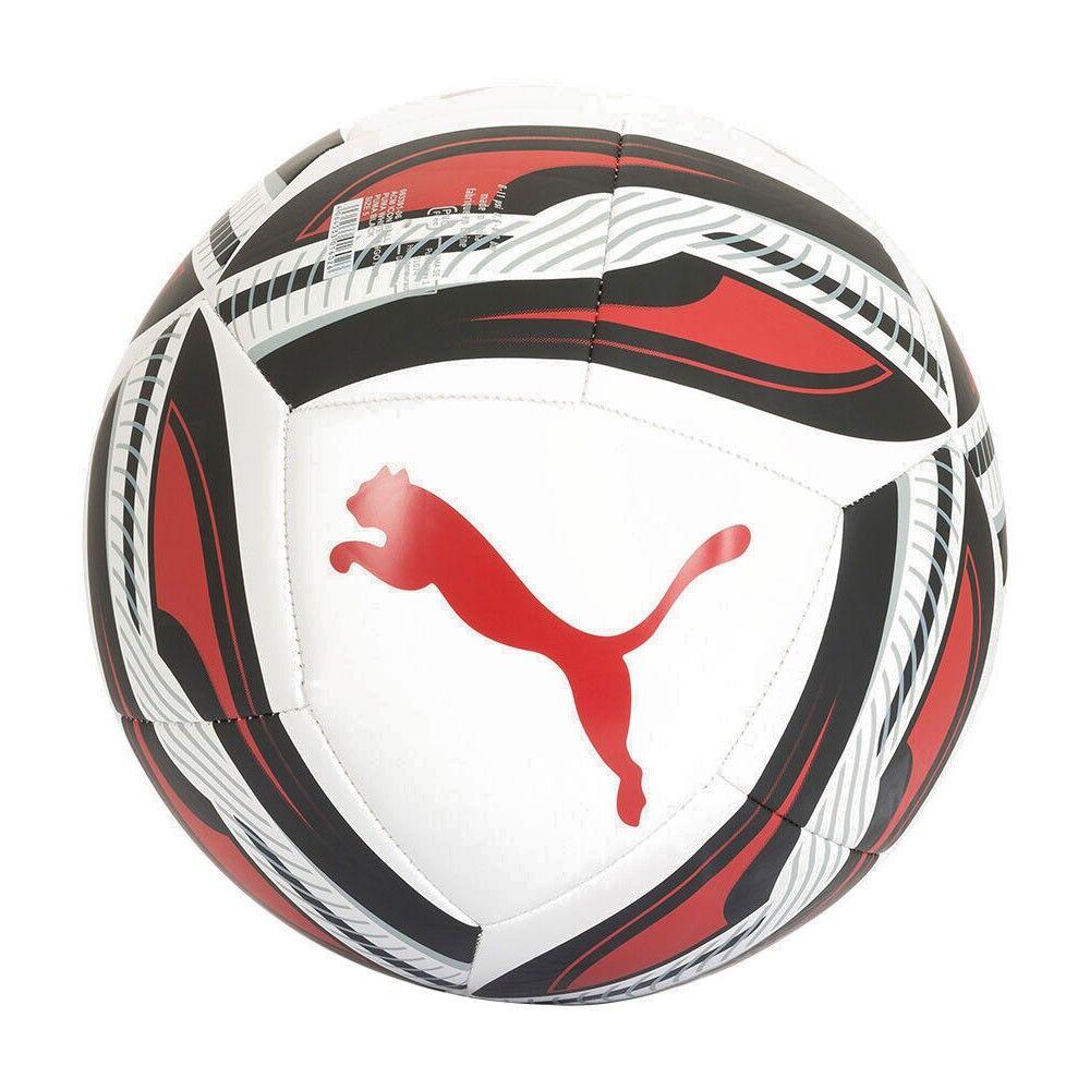 Puma Pallone Da Calcio Acm Icon Bianco Rosso 5
