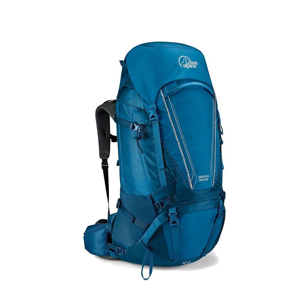 Alpine Zaino Trekking Diran 55+10 Blu Azzurro Unisex TU