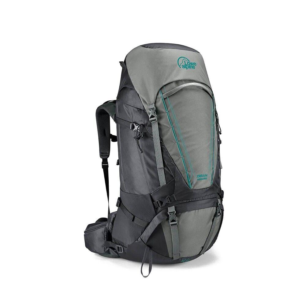 Alpine Zaino Trekking Diran Nd50+10 Grigio Unisex TU
