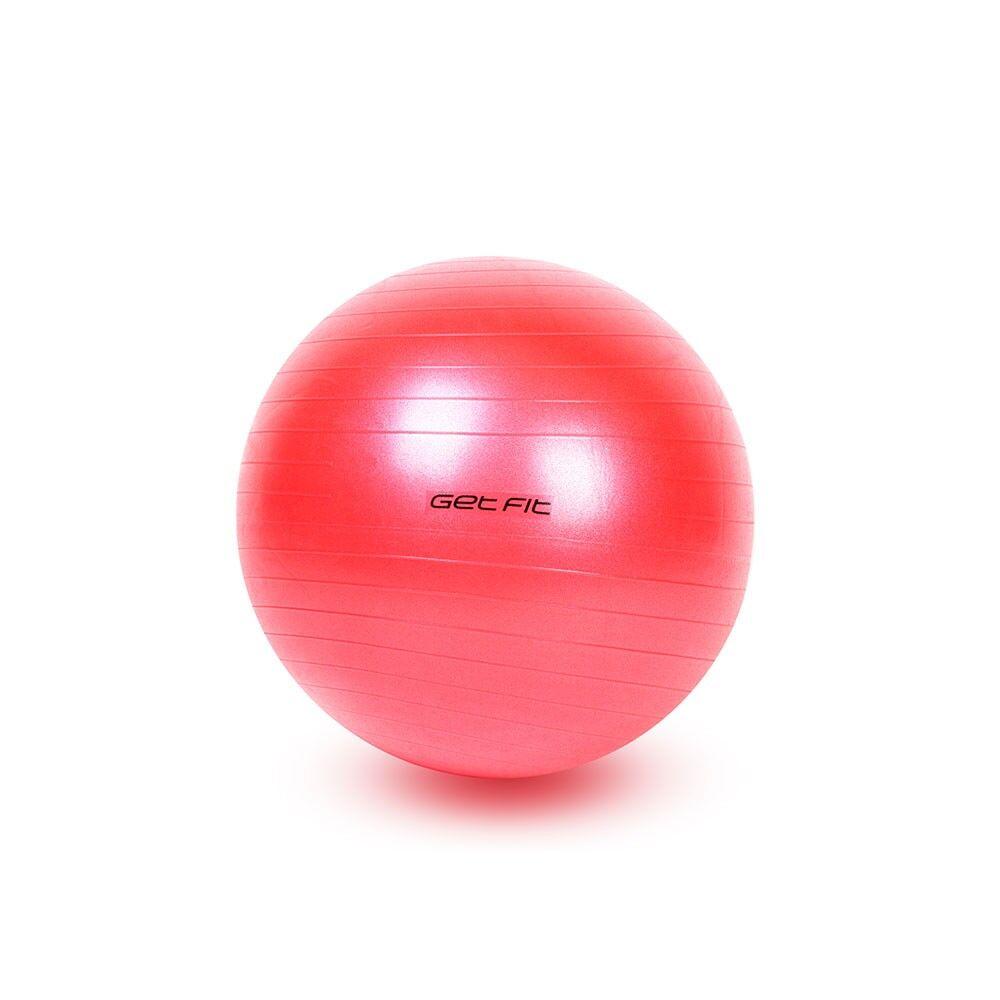 get fit fitball 55 cm antiscoppio rosso 55 cm