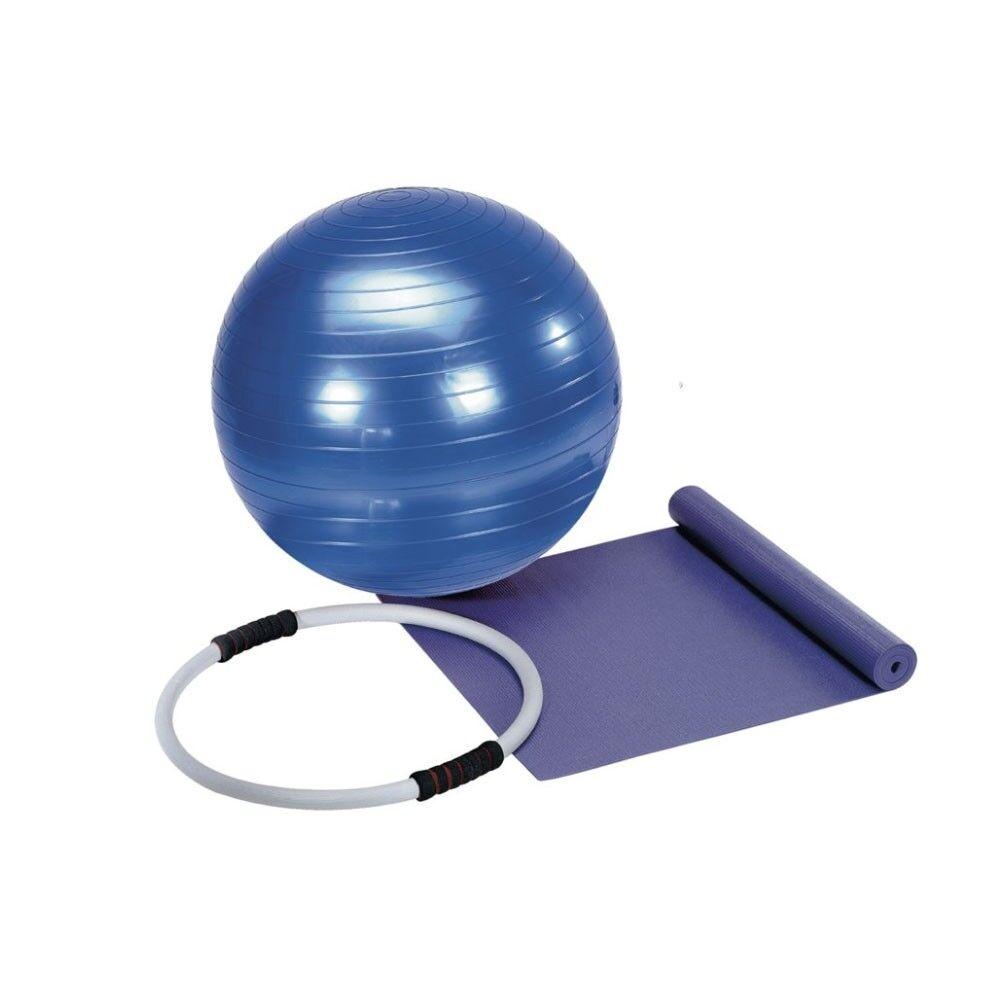 get fit set pilates (materassino fitball anello) tu
