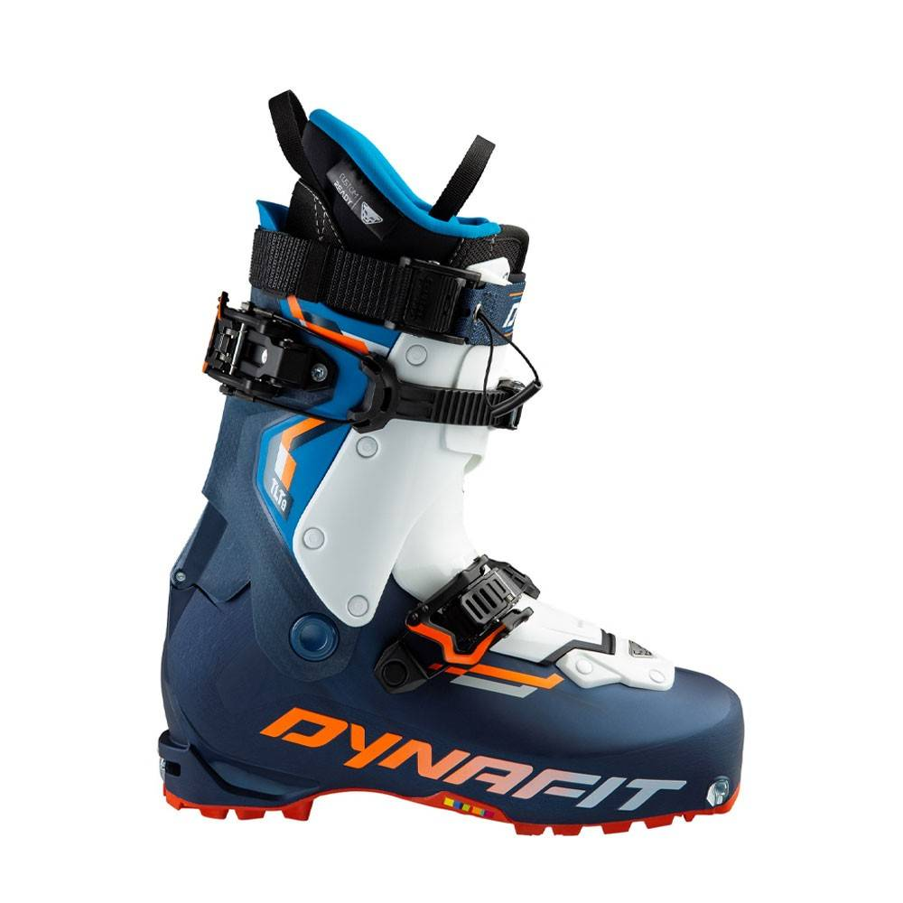 Dynafit Scarponi Sci Alpinismo Tlt8 Expedition Cr Blu Arancio Fluo Uomo 26.5