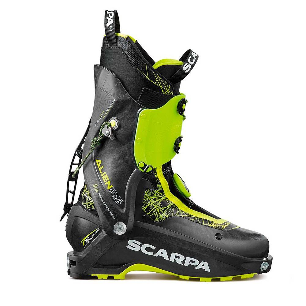scarpa scarponi sci alpinismo alien rs nero uomo 26 cm