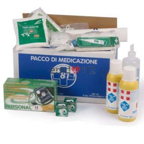 pacco di reintegro base allegato 1 per cassette pronto soccorso – con sfigmomanometro