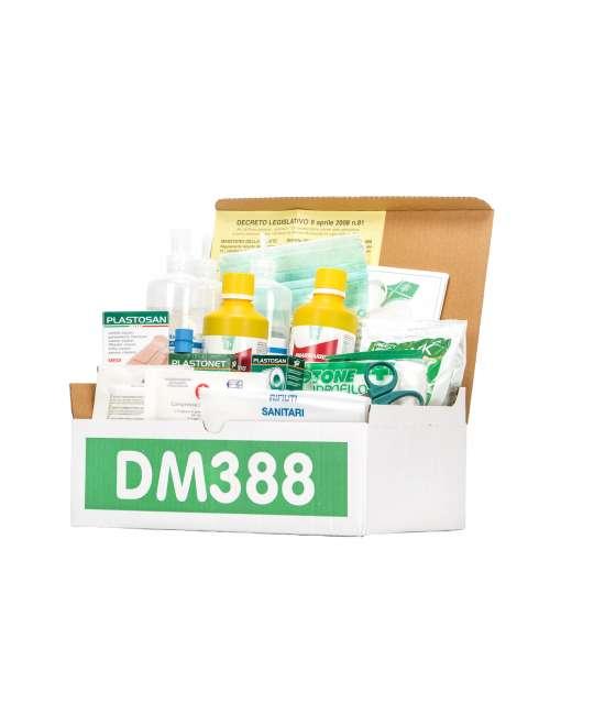 pacco di reintegro base allegato 1 per cassette pronto soccorso – senza sfigmomanometro
