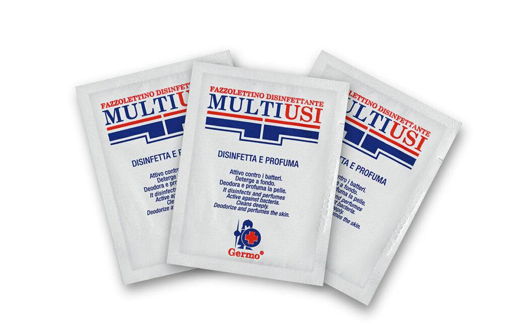 Salviette disinfettanti antibatteriche