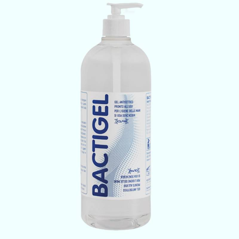 gel disinfettante mani – bactigel flacone 1 litro