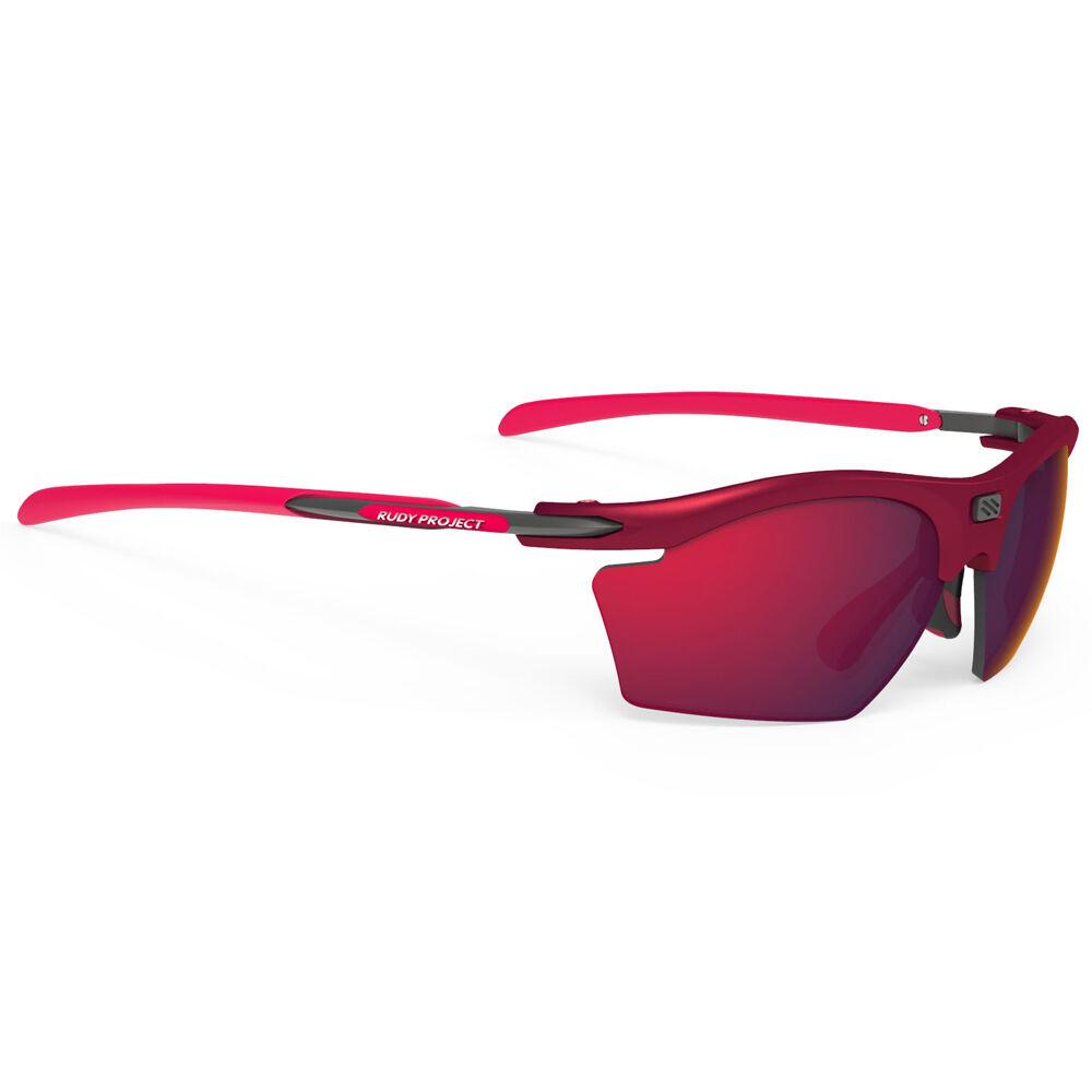 Rudy Project Rydon Slim - Tipo di Lente: Specchiata Rosso Colore Occhiali: Bordeaux