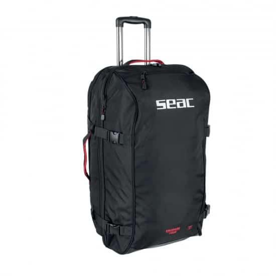 seac sub seac equipage 1000 140lt - colore: nero taglia borse: 140 lt