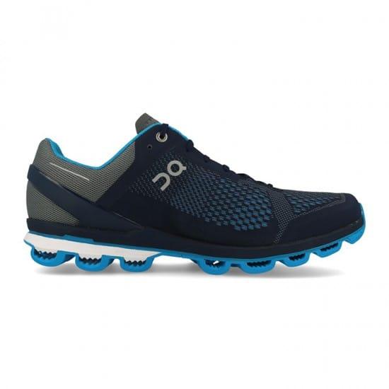 On Cloudsurfer Uomo - Taglia calzature: 42,5 Colore: Blu/Bianco