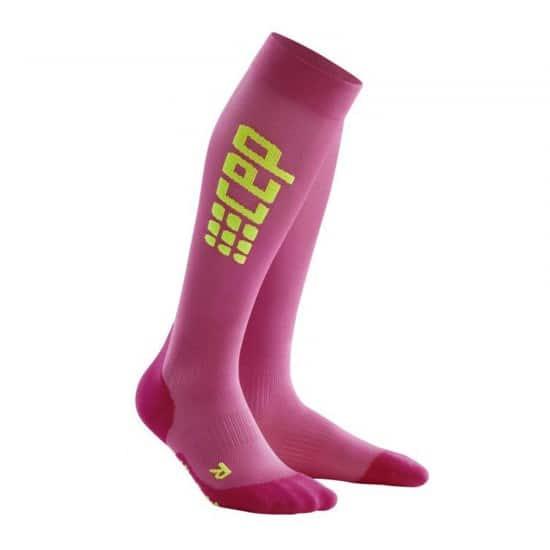 Cep Run Ultralight Socks Donna - Colore: Rosa Taglia Calze: 2
