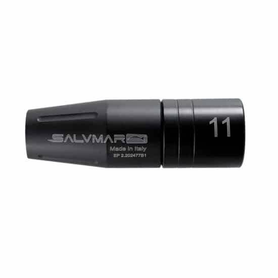 Salvimar Kit Testata Sottovuoto - Colore: Nero Taglia Accessorio/Ricambio: 11 mm