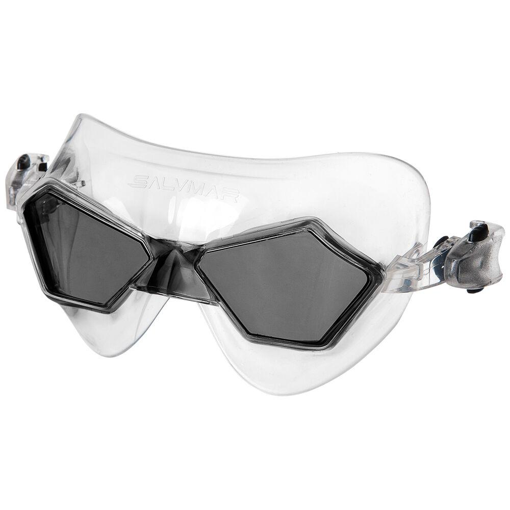 Salvimar Jeko - Taglia Occhialini nuoto: Regular Colore: Trasparente Tipo di Lente: Nero