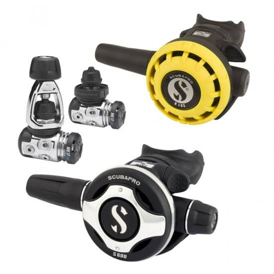 Scubapro kit Erogatori per immersioni MK17 evo S600 + Octopus R195