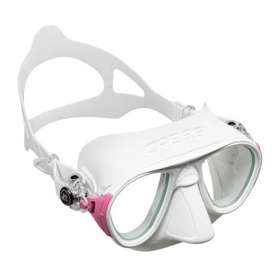 CRESSI SUB Cressi Calibro - Tipo di Lente: Trasparente Colore: Bianco/Rosa