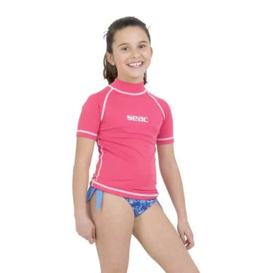 SEAC SUB Seac T-Sun Short Girl - Colore: Rosa Taglia Neoprene: 2 - 3 anni