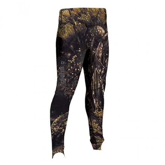 Mares Rash Guard Pantalone Illusion - Colore: Mimetico Marrone Taglia Coprimuta Apnea: L