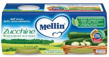 Mellin-Omo Zucchine  2x 80